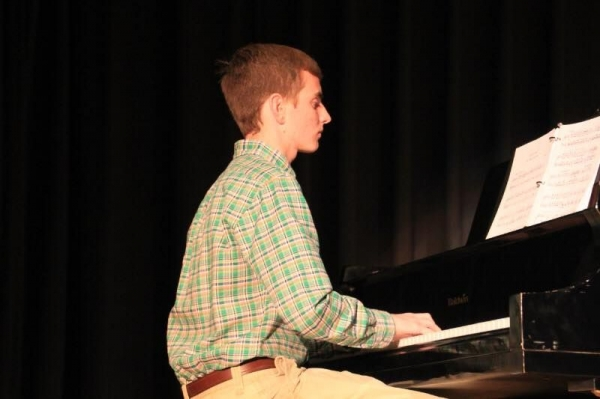 Winner of the 2015 District talent show