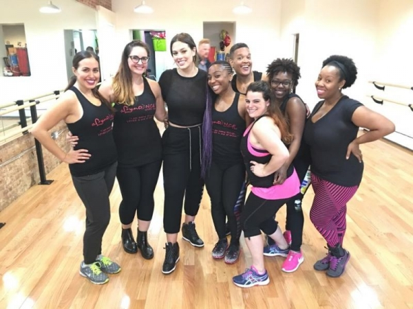Private dance class with Supermodel, Ashely Graham