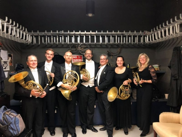 Philadelphia Orchestra Horn section for the Planets - Gustav Holst.