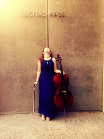 This photo was taken before a small ensemble performance at CSU Sacramento's School of Music.