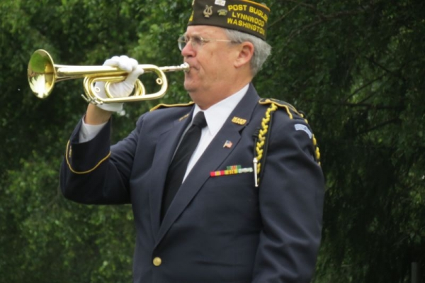 "Glenn Ledbetter, ""Taps,"" Memorial Day, 2015"