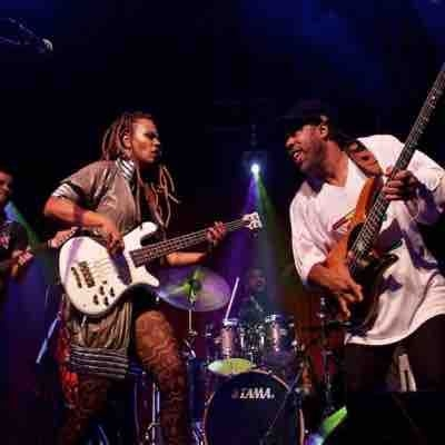 Playing at Ardmore Music Hall with Divinity Roxx & Victor Wooten.