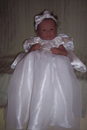 Christening Outfit with Wings