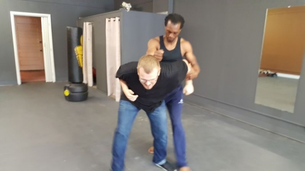 Tactical fighting drills....