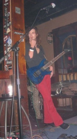 Trying to look as cool as possible, getting ready to go dominate the stage.... 8 years ago now!