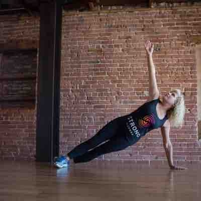 Adding in some Pilates mat exercises  to tone and build core strength.