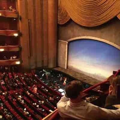 🎶So beautiful🎵💕Loved sitting in our little 2 seat box w my betrothed. I got lucky to find such a talented and well cultured man