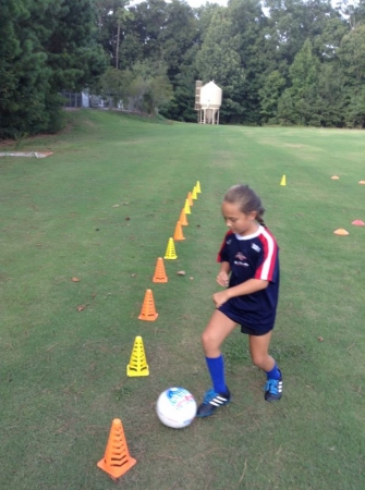 Always fun working with young players.