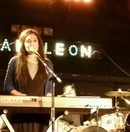 Gigging with Liz Fulmer Band at The Chameleon Club in Lancaster, PA.