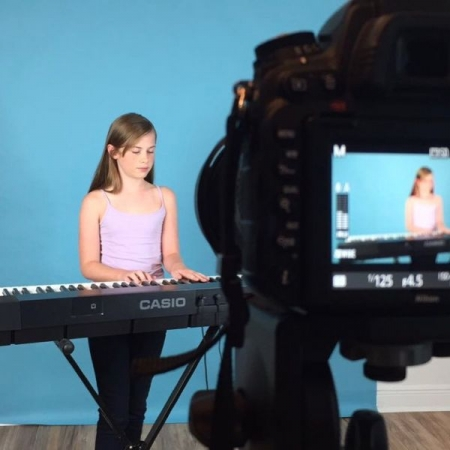 Audition Filming Session