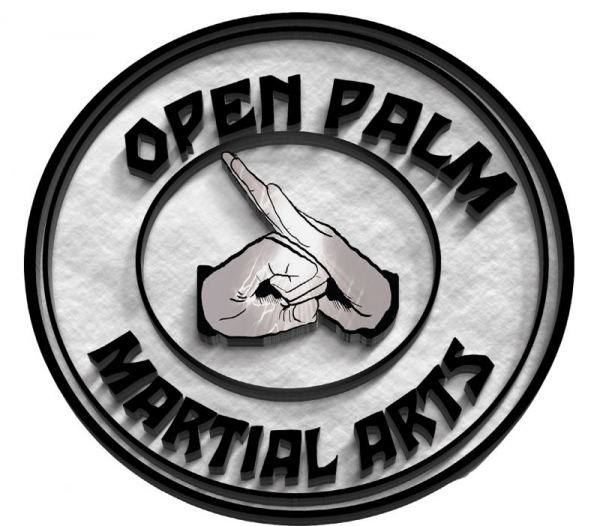 Open Palm Martial Arts Logo and Patch design.