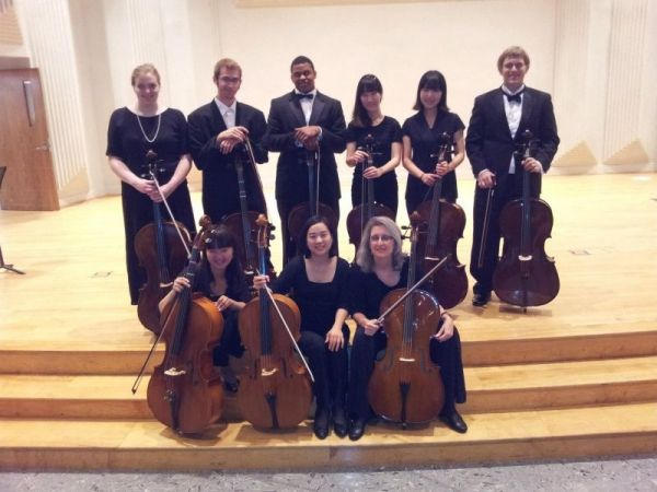 Students of the MSU Cello Studio. I am on the top left.