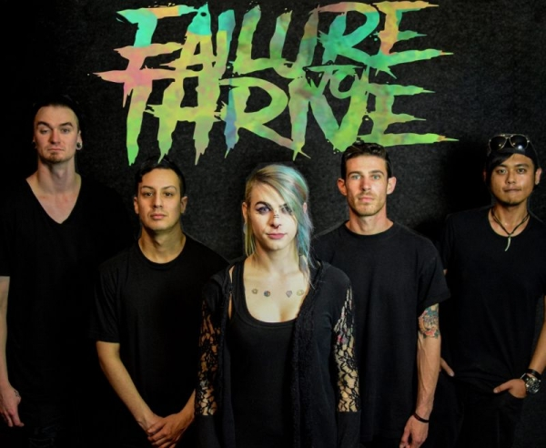 My band, Failure to Thrive. (Our drummer got cut off :( )