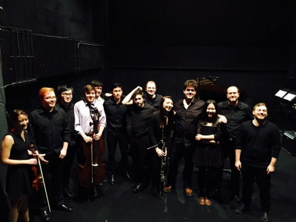 NYU Ensemble. (6th from the left)