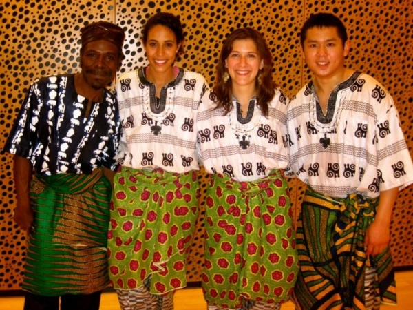 Ghanaian Drumming Ensemble at Brown University