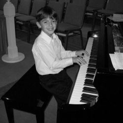 Matthew Spencer (nephew) and Spencer Music Artist Development Student:  Concert Pianist