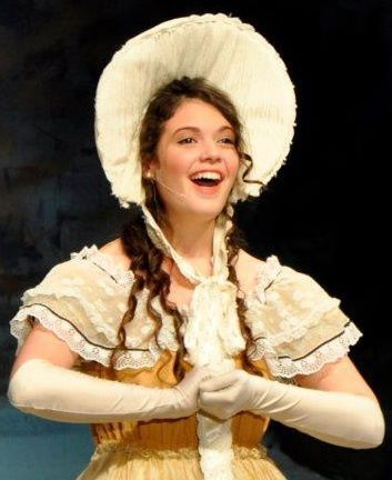 "Performing as Mabel in ""Pirates of Penzance"""