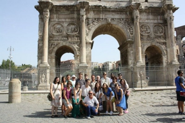 In Rome with the Siena Summer Music Program!