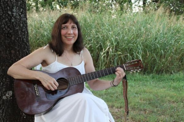 Me and my 1936 2-17 Martin guitar.