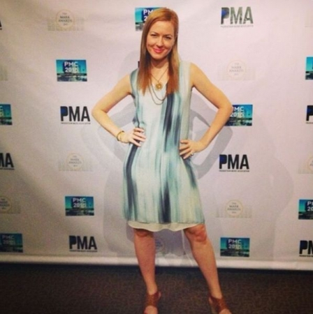 Attending The Production Music Association Mark Awards in Los Angeles.