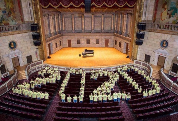 Our Eastman class of 2020 picture in Kodak Hall!