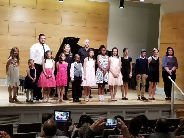 Spring students' recital May 6, 2018 Ewell Recital Hall, College of William and Mary
