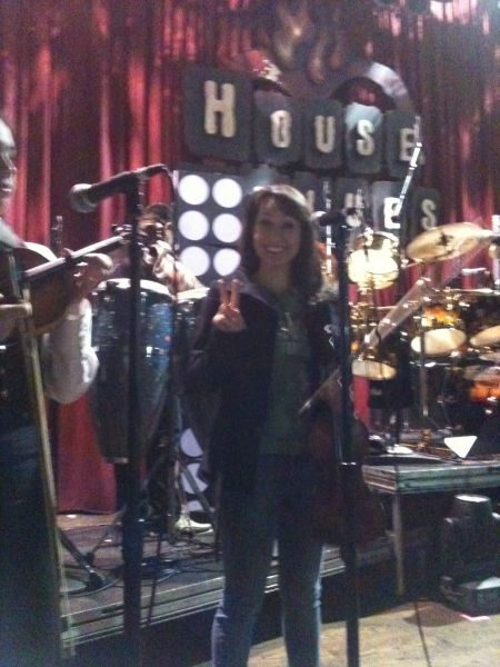 Sound Check At House of Blues!