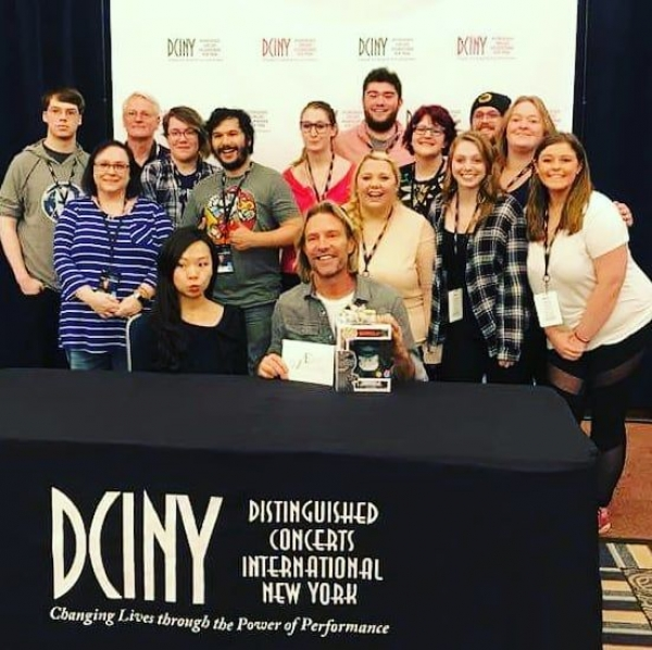 The BSU '18 Chamber Choir on their four-night residency in New York City meeting world-renowned composer and conductor Eric Whitacre!