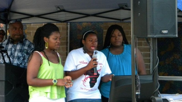 Karaoke Fun with voice students