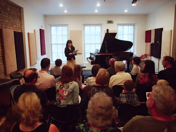Student Piano Recital 2016