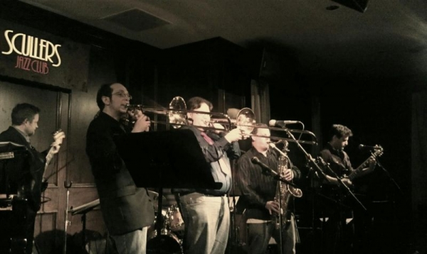 Playing my heart out at Boston's primier Jazz club