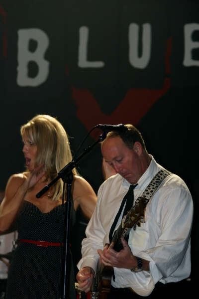 Jesse playing at the House of Blues with his band The Mar Dels!
