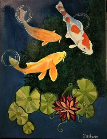 Kool-Koi Acrylic Painting Workshop