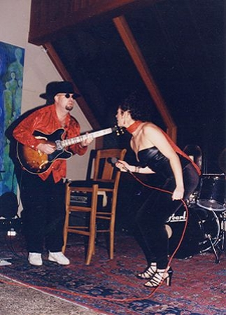 Performing at my self produced concert - 'The Blues Has Many Faces', Marin County California