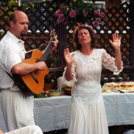 Duo wedding gig with the fabulous singer and vocal coach Maeve Udel