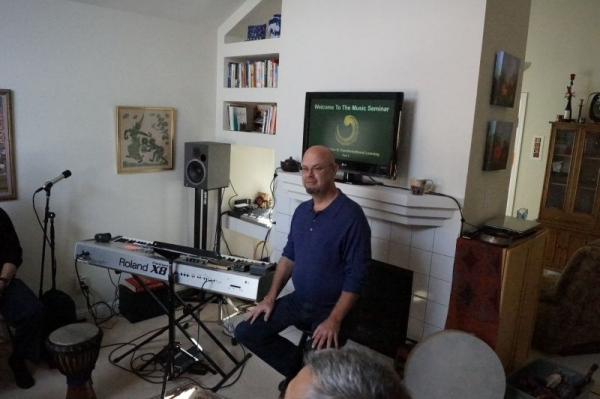 Leading a Music Seminar Day Long in the East Bay