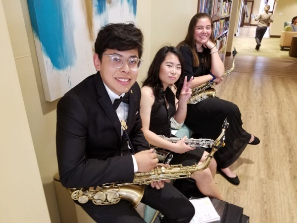Pedro, Ivy, and Isabella, Spring 2018 Recital