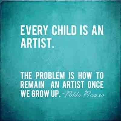 Keep your childlike creativity!