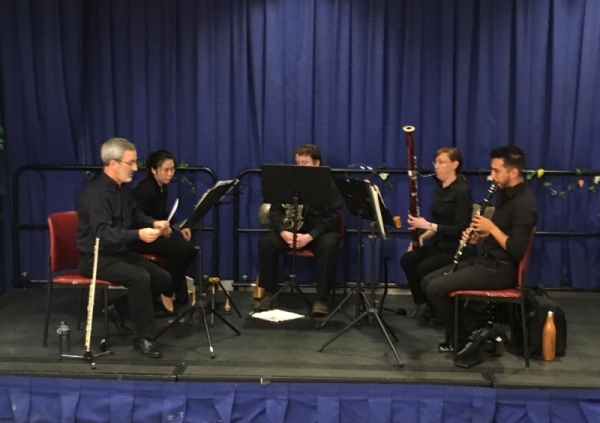Los Angeles Doctors Symphony Wind Quintet, 2018