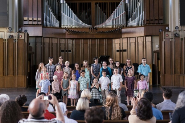 Performers at the 2018 Spring Recital!