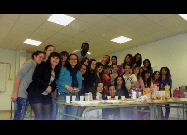 Some of my language students and I