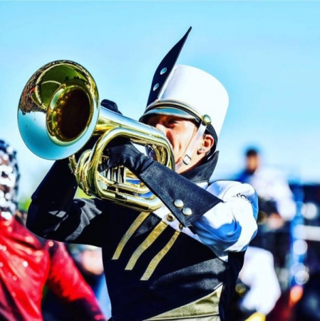 Zac was a featured soloist with the Towson University Marching Band in 2015
