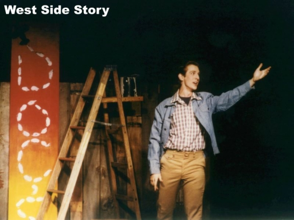 Rob as Tony in West Side Story