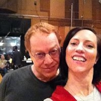 Me and Danny Elfman after a session!  Amazing man and musician!
