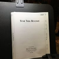 I was 'beyond' giddy at this session!  And yes, we go to sing the old Star Trek theme!  So proud to have been on this session.
