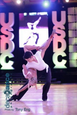 From the United States Dance Championships (USDC) 2014. Also used on the cover of Dance Vision Magazine.