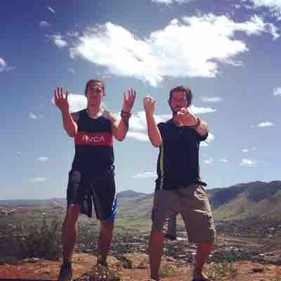 High elevation training with senior student on top of North Table Mountain in Colorado!
