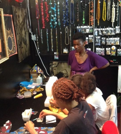 Sewing Class in a boutique 2014. How To Make A Tote Bag For Beginners.