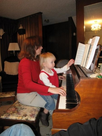 Encouraging a Young Musician