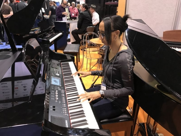 The NAMM (National Association of Music Merchants) Show 2018
